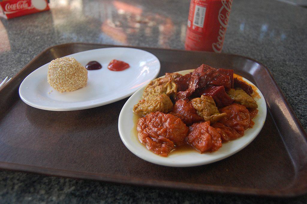 Hong Kong vegetarian meal foodie