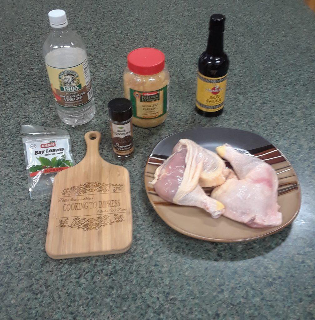 Chicken adobe cooking to impress